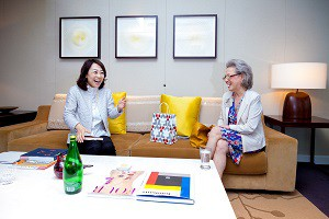 Interview to Ms.Haruko Iino and Sakurako