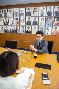 Interview to Mr.Masakazu Yamamoto
